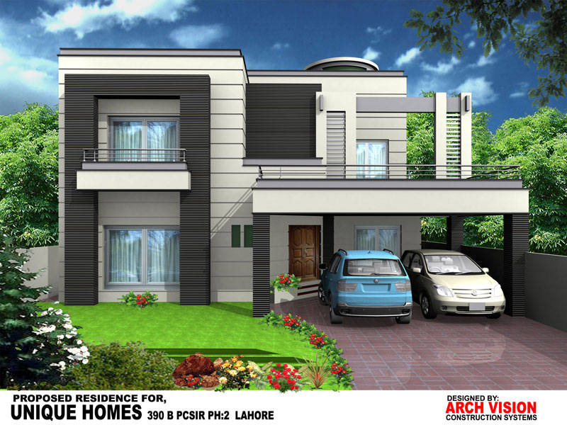 Front Elevation Of 10 Marla House : Unique homes your luxury dreams