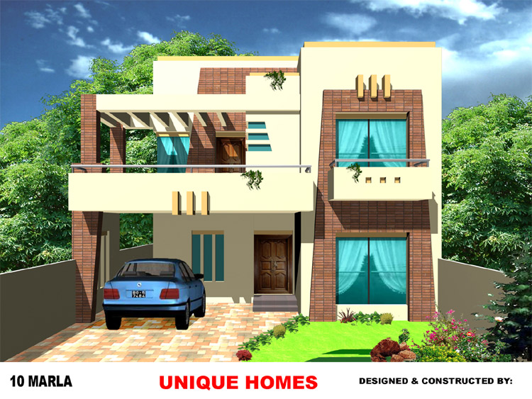 Residential Front Elevation Images : Unique homes your luxury dreams