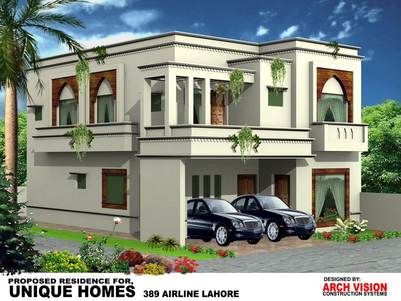 Front Elevation Of 20 Marla Houses : Unique homes your luxury dreams